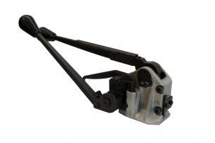Metalinės juostos įtempimo įrankis