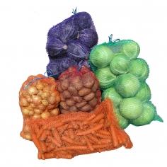 Knitted net (Raschel) bags