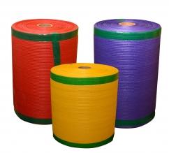 Knitted net (Raschel) bags on rolls