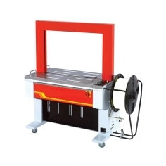 Automatic strapping table